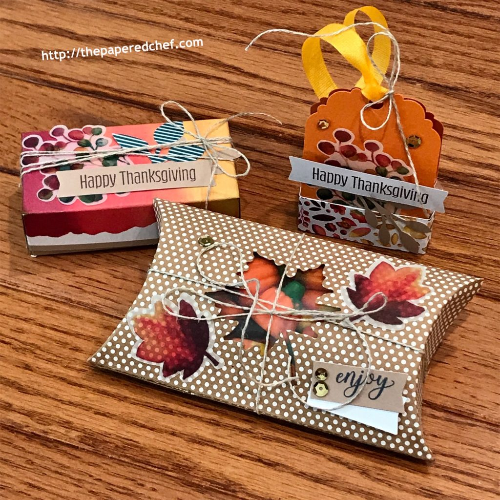 Gift of Fall Paper Pumpkin Kit - 3D Items