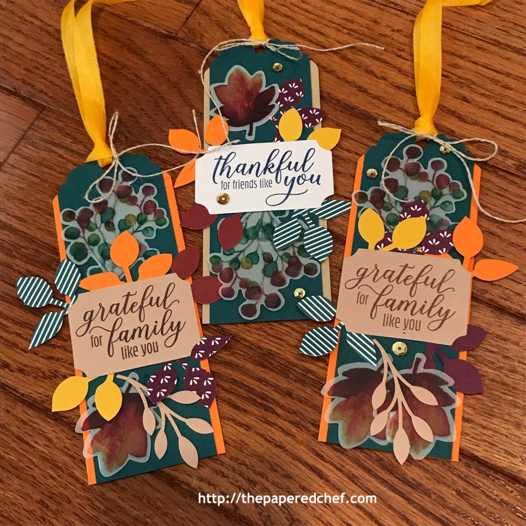 Gift of Fall Paper Pumpkin Kit - Bookmarks
