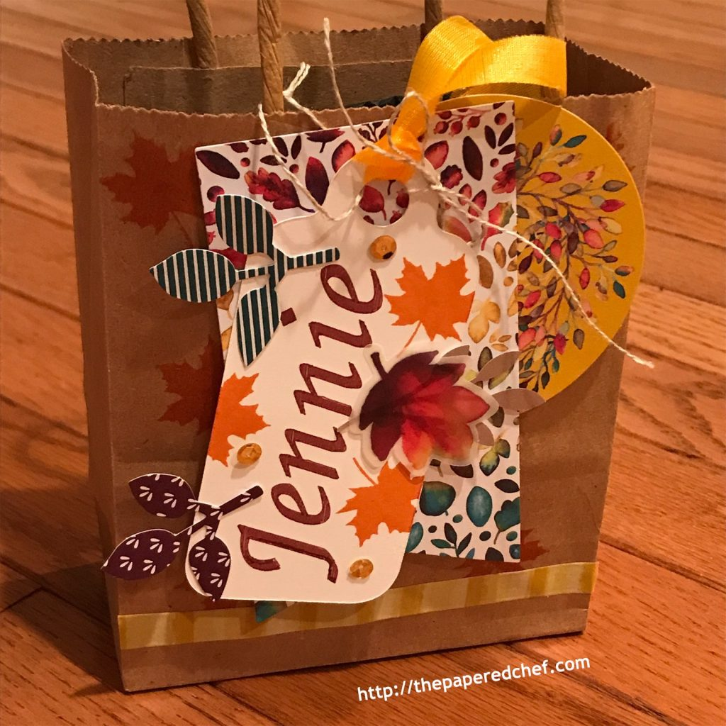 Gift of Fall Paper Pumpkin Kit - Gift Tag