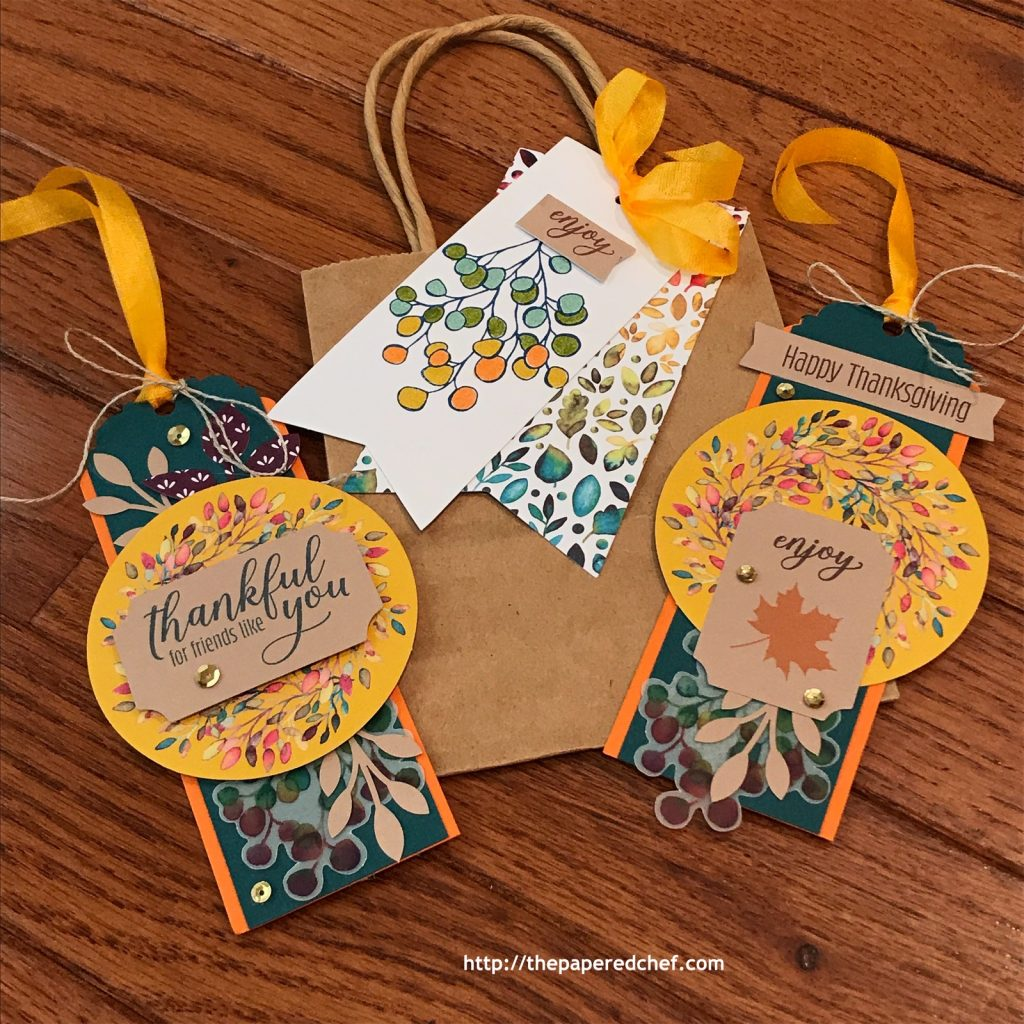 Gift of Fall Paper Pumpkin Kit - Gift Tags