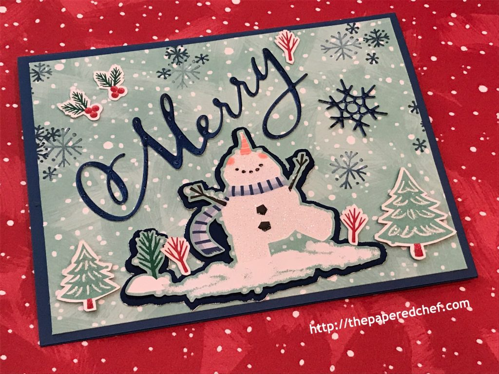 Let it Snow Card by Stampin' Up!