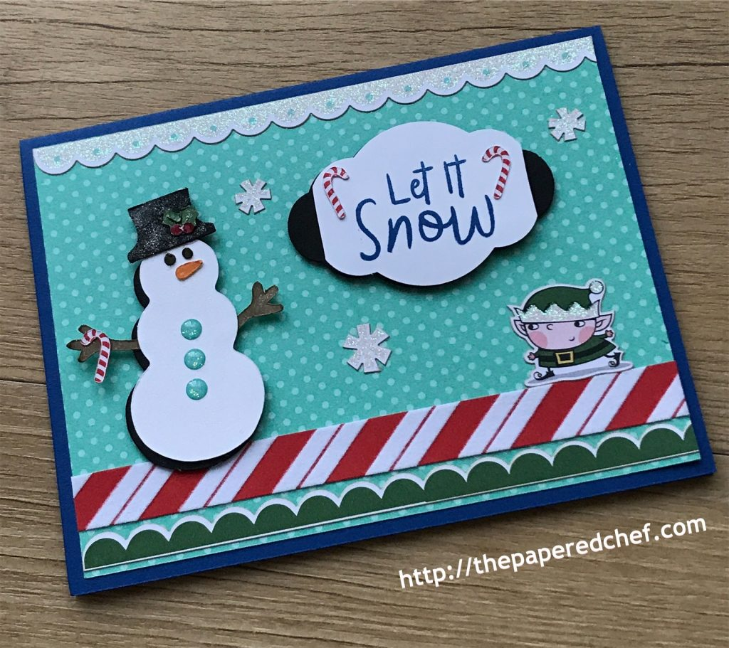Snowman Builder Punch and Snowman Season Stamp Set by Stampin' Up!