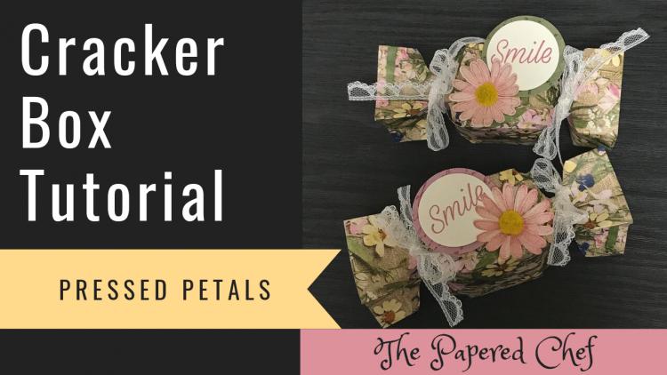 Cracker Box Tutorial - Pressed Petals