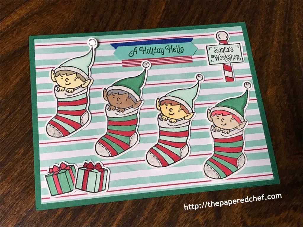 Elfie Card - 2019 Holiday Catalog