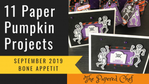Paper Pumpkin Projects - Bone Appetite