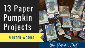 13 Paper Pumpkin Projects - Winter Woods