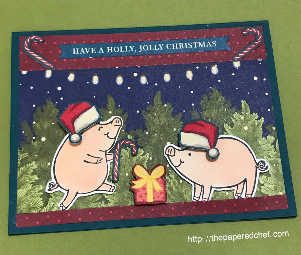 t Before Christmas - This Little Piggy - Stampin' Up!