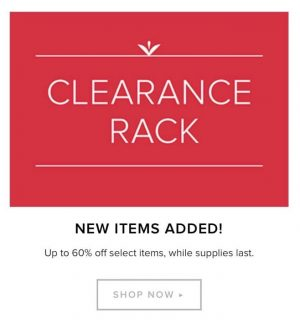 Stampin' Up! Clearance Sale
