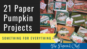 Paper Pumpkin - Something for Everything