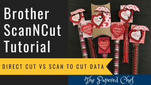 Brother ScanNCut - Direct Cut vs Scan to Cut Data