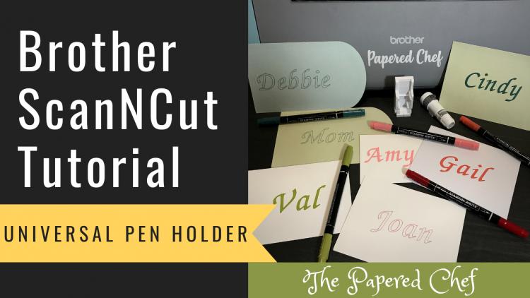 Brother ScanNCut - Universal Pen Holder