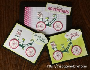 Bike Ride Stamp Set featuring Stampin' Up In Colors