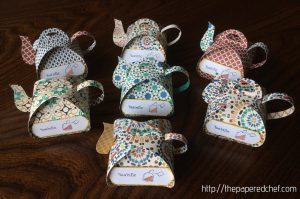Tea-Rific Tea Pots created with Moroccan Designer Series Paper