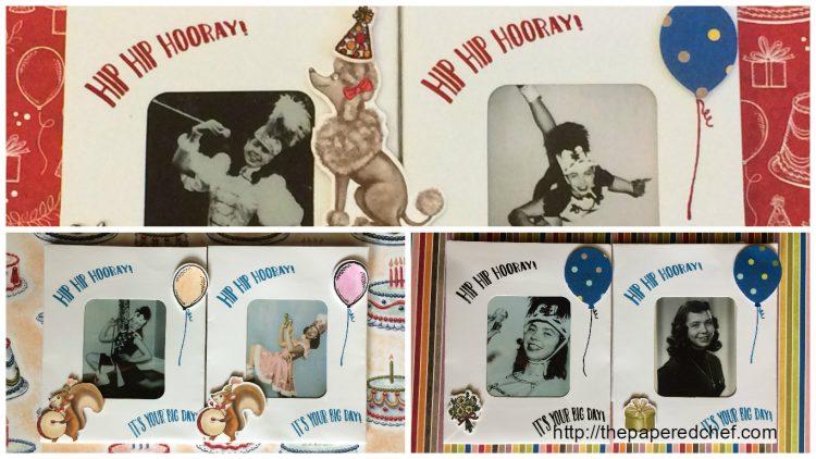 Birthday Memories Party Favors