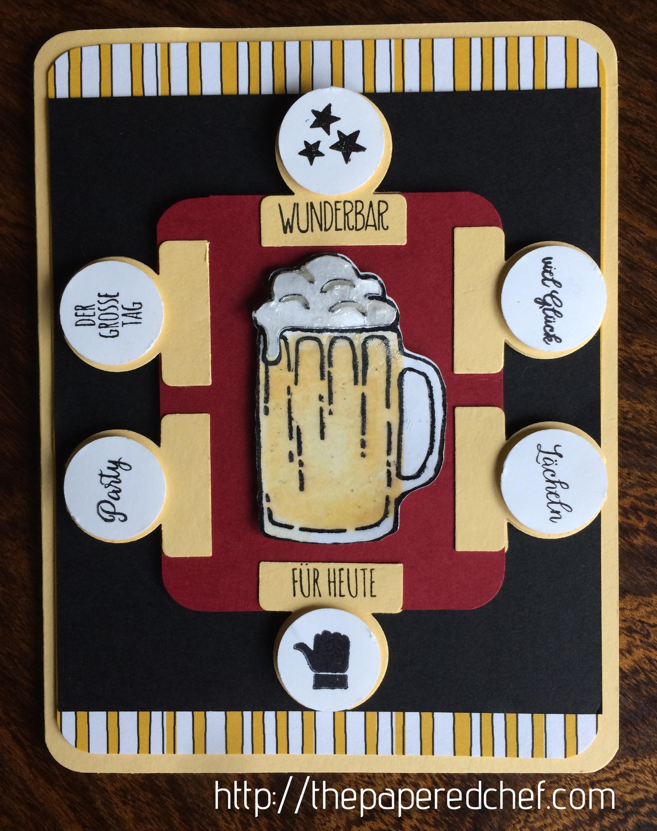 German Beer Card