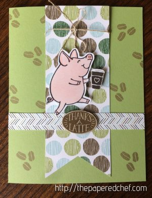 Thanks a Latte Piggy Card
