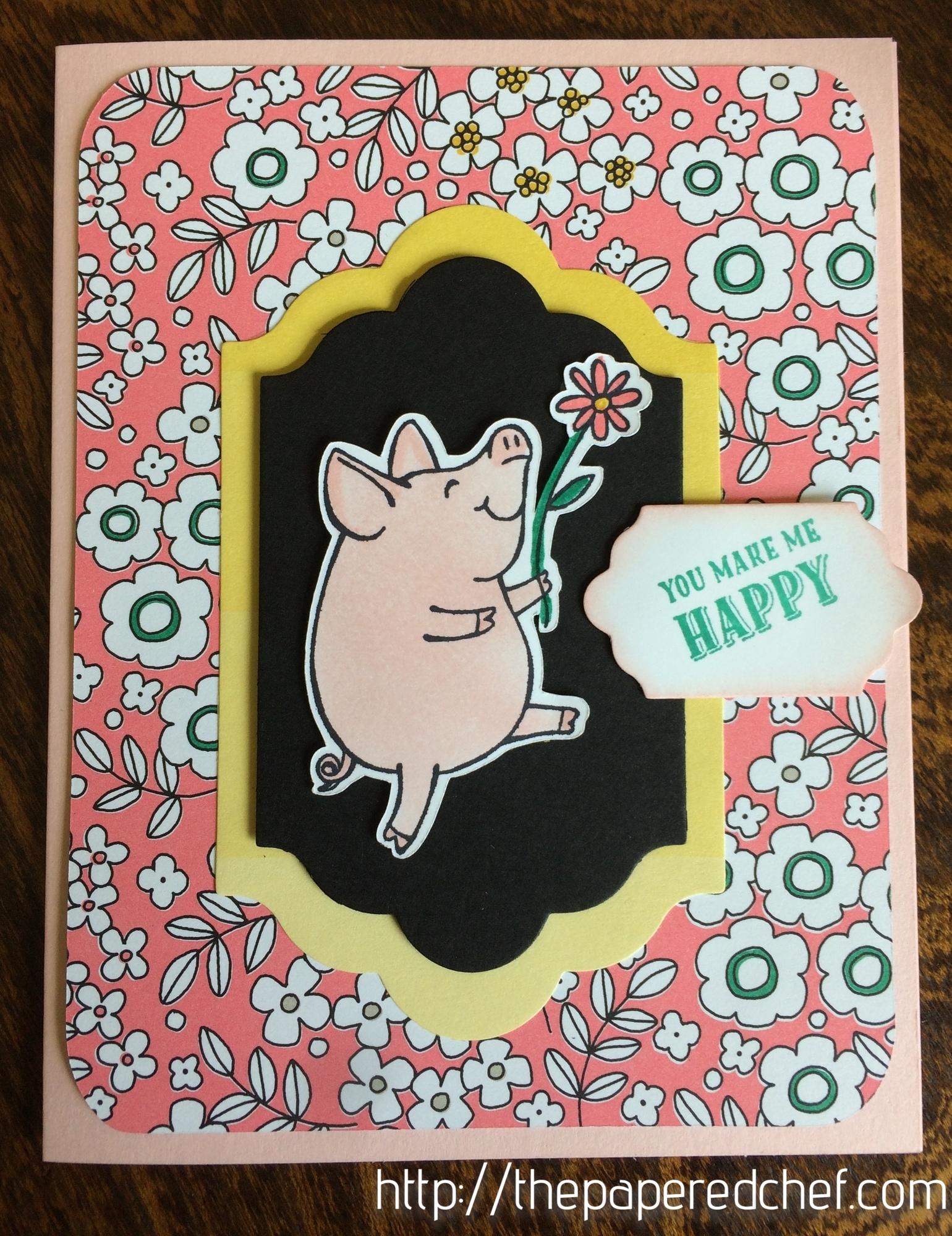 This Little Piggy Pick a Pattern Card