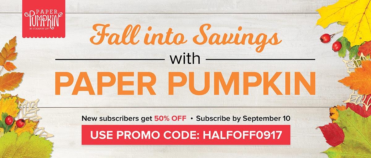 Paper Pumpkin August 2017 Special