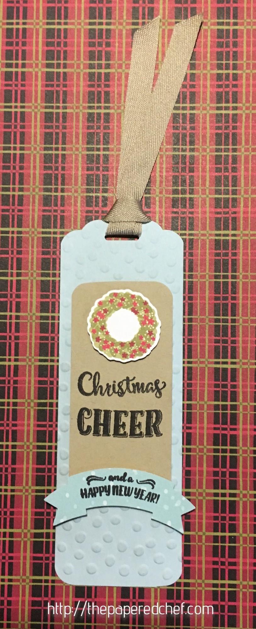 Christmas Cheer Bookmark