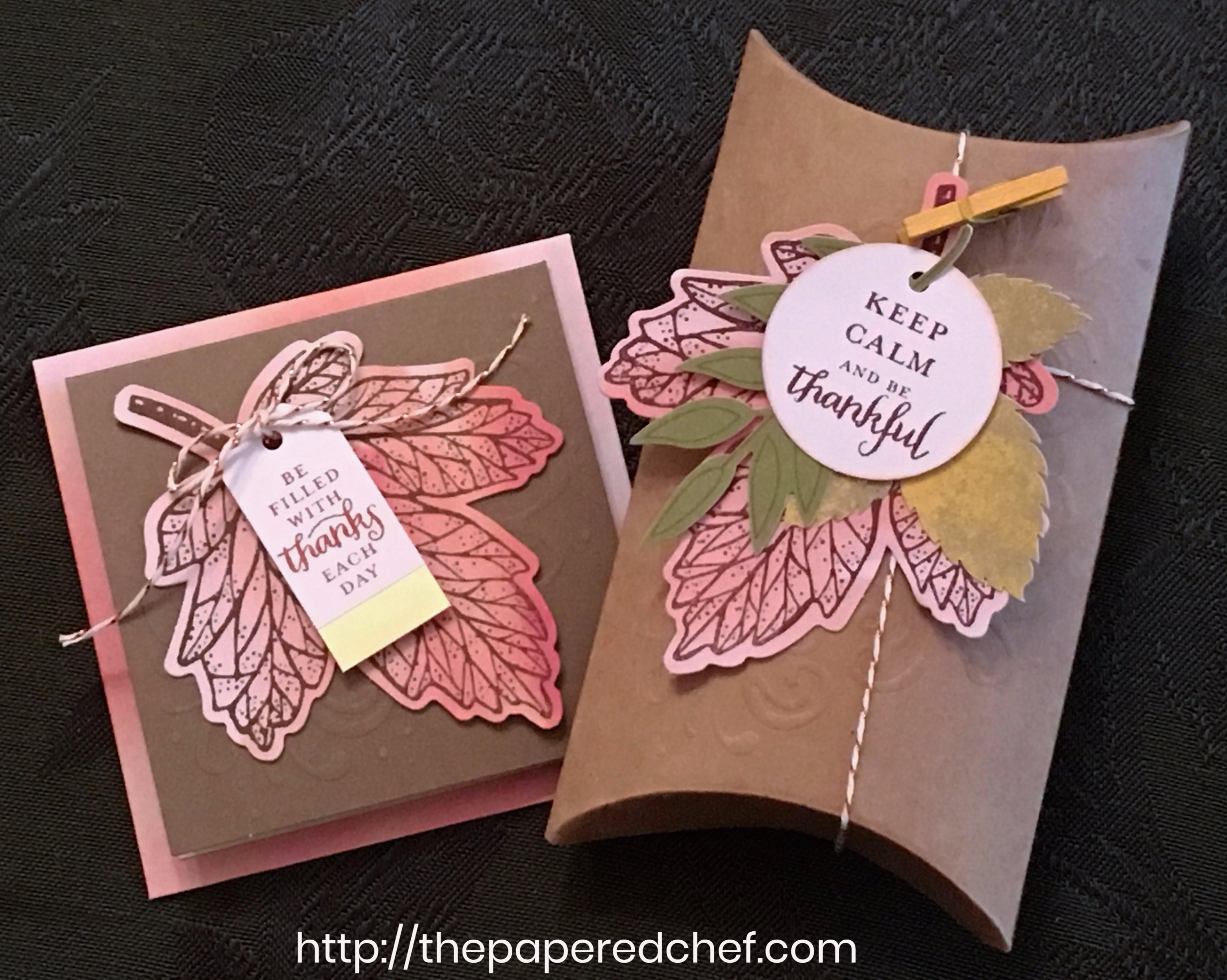 Layered Leaves: Paper Pumkin