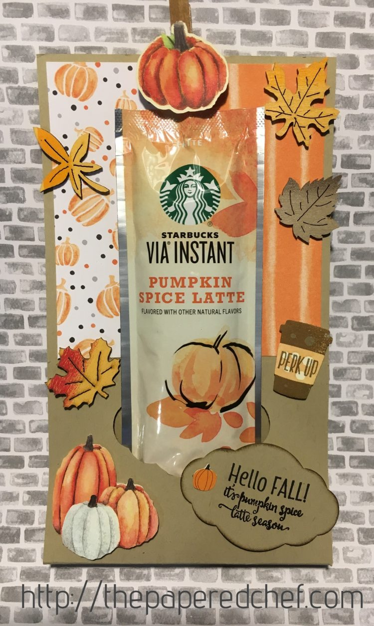 Starbucks Pumpkin Spice Latte Treat