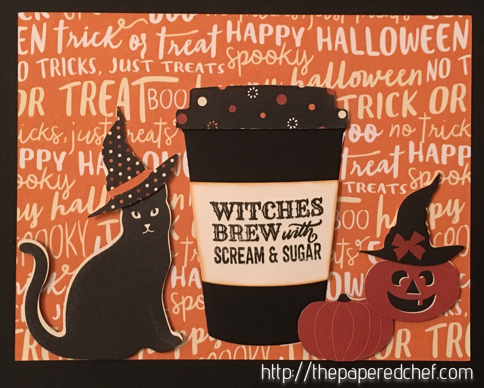 Witches Brew with Scream & Sugar Card