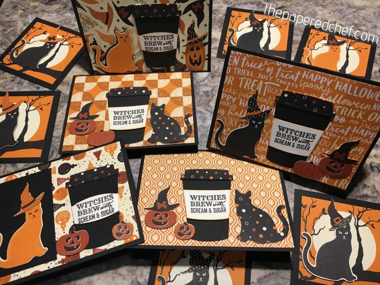 Witches Brew with Scream & Sugar Cards