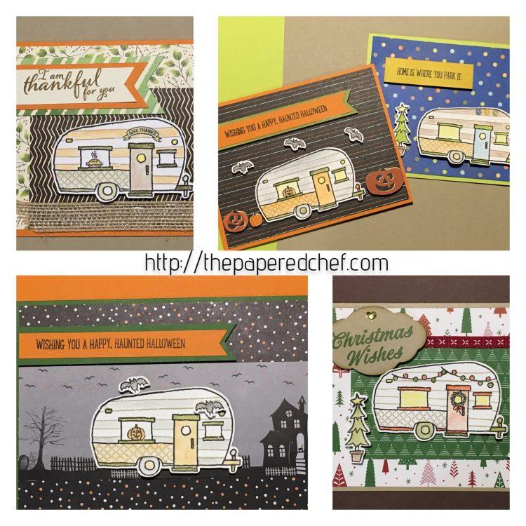 Glamper Greetings Cards