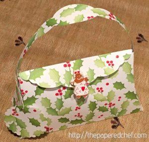 Christmas Holly Pillow Purse