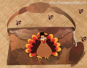 Thanksgiving Turkey Pillow Purse