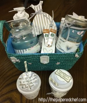 Yankee Candle Wedding Basket