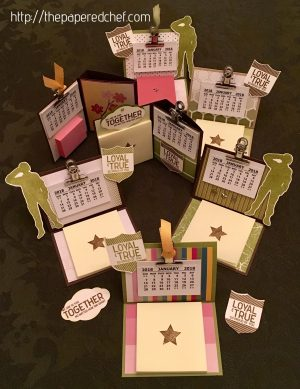 Calendars for Troops - Loyal & True by Stampin' Up