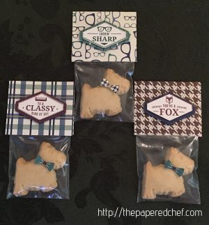 True Gentleman Scottie Dog Treats for Men