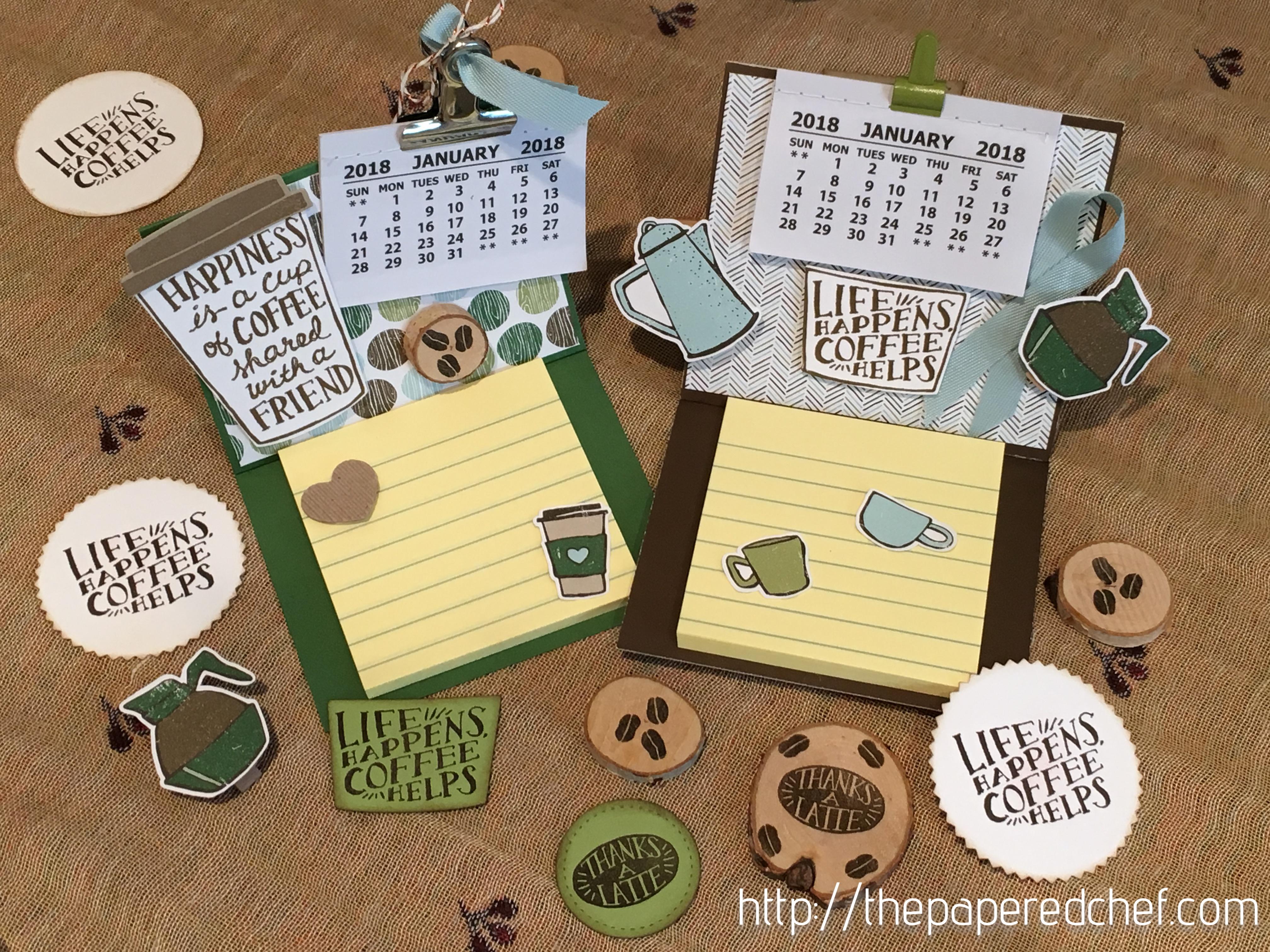 Coffee Break Mini Calendars