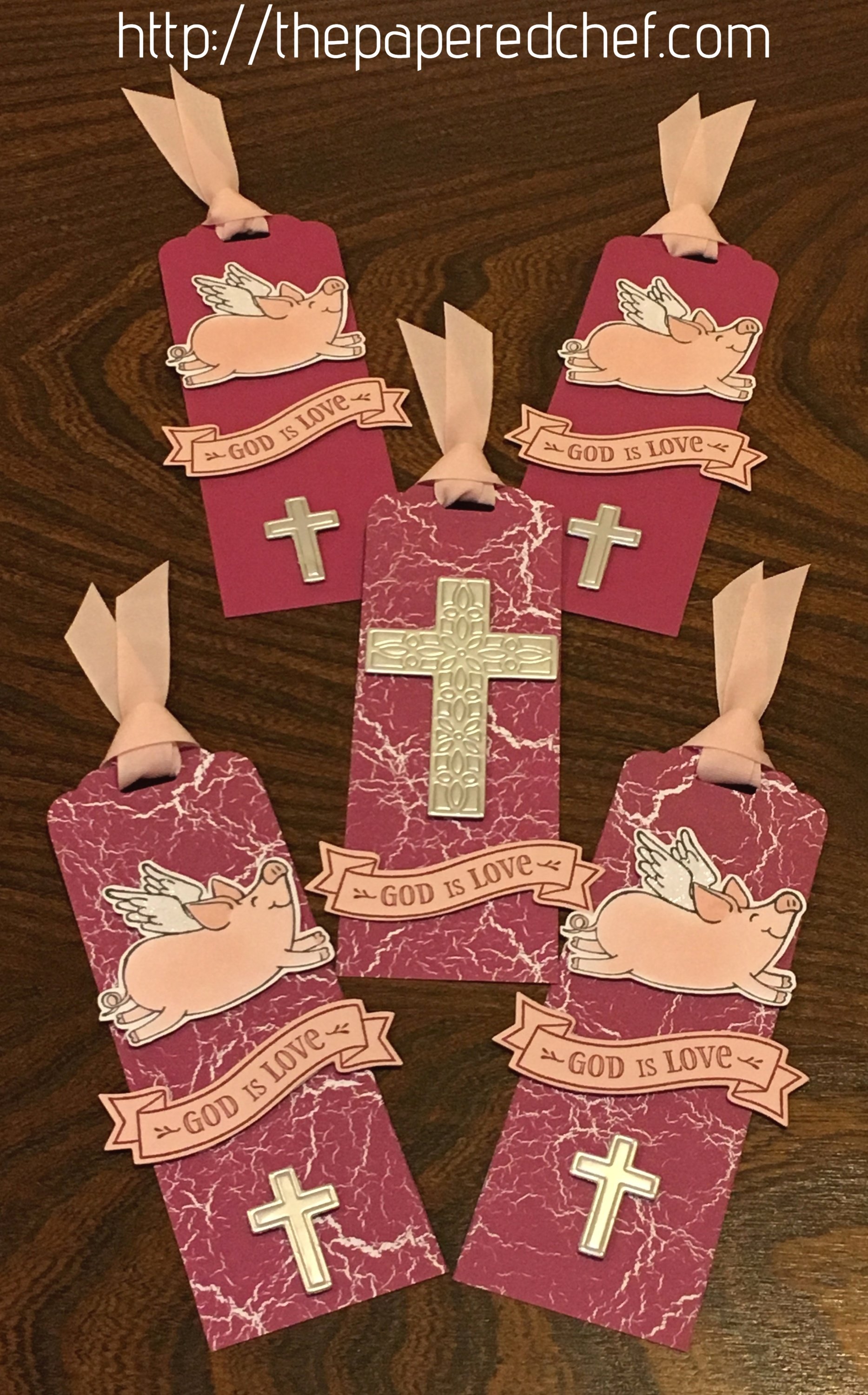 God is Love This Little Piggy Bookmarks
