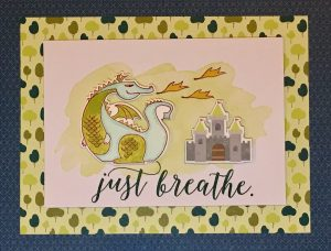 Just Breathe Dragon Card - Myths & Magic