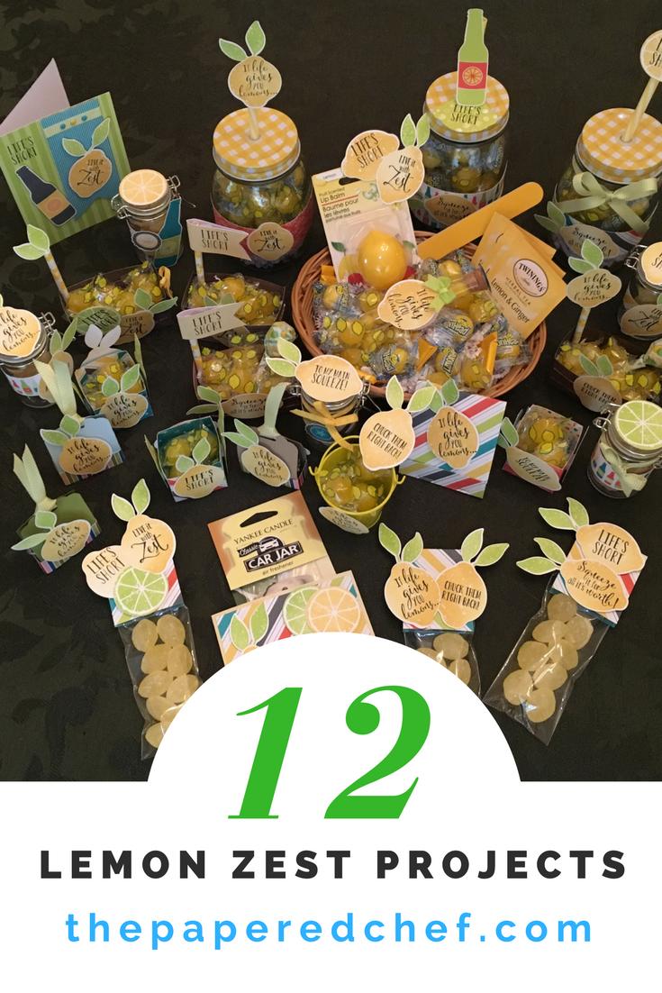 12 Lemon Zest Projects