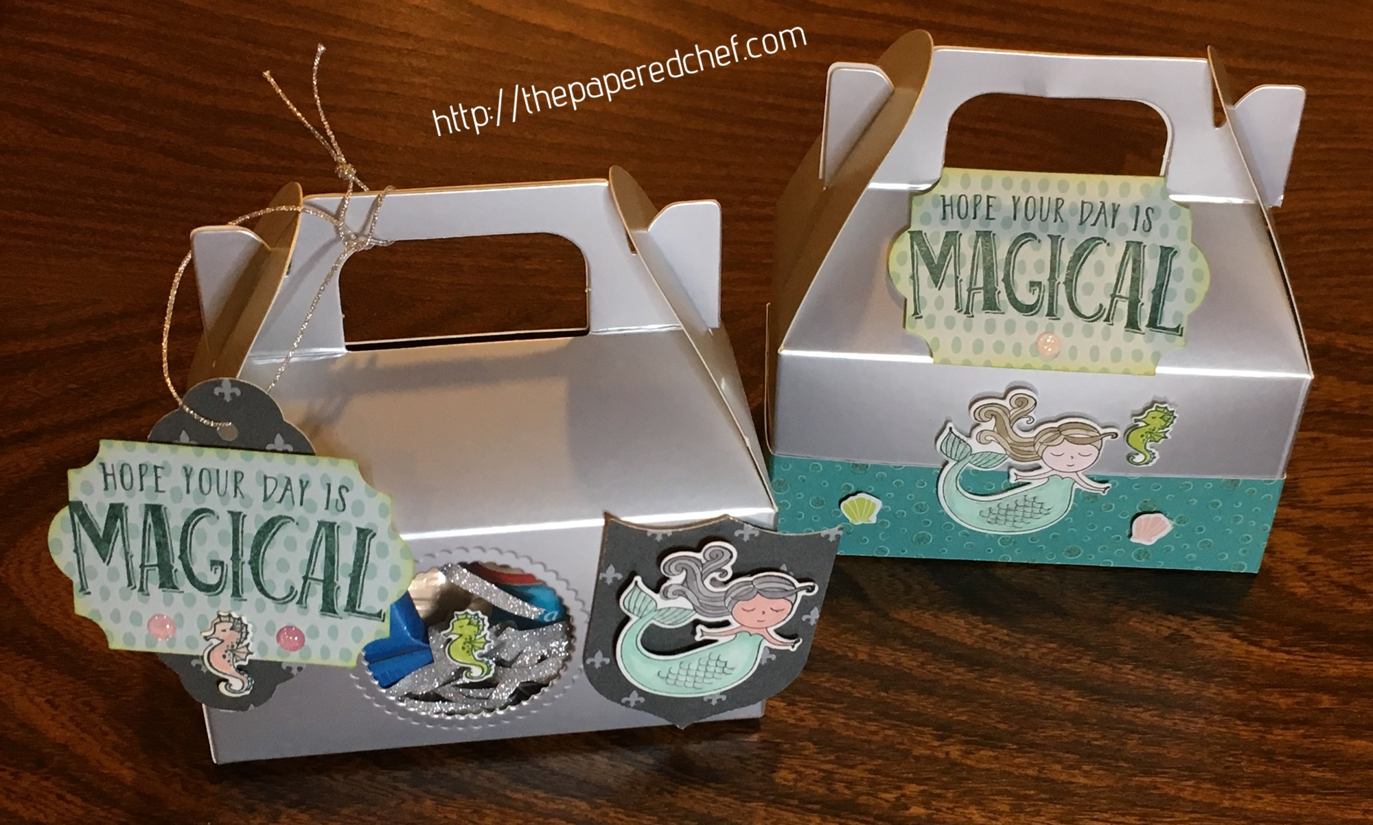 Magical Mermaid Gable Boxes
