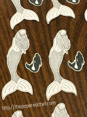 Cutting out Stamped Images with the Brother Scan N' Cut – Magical Mermaid