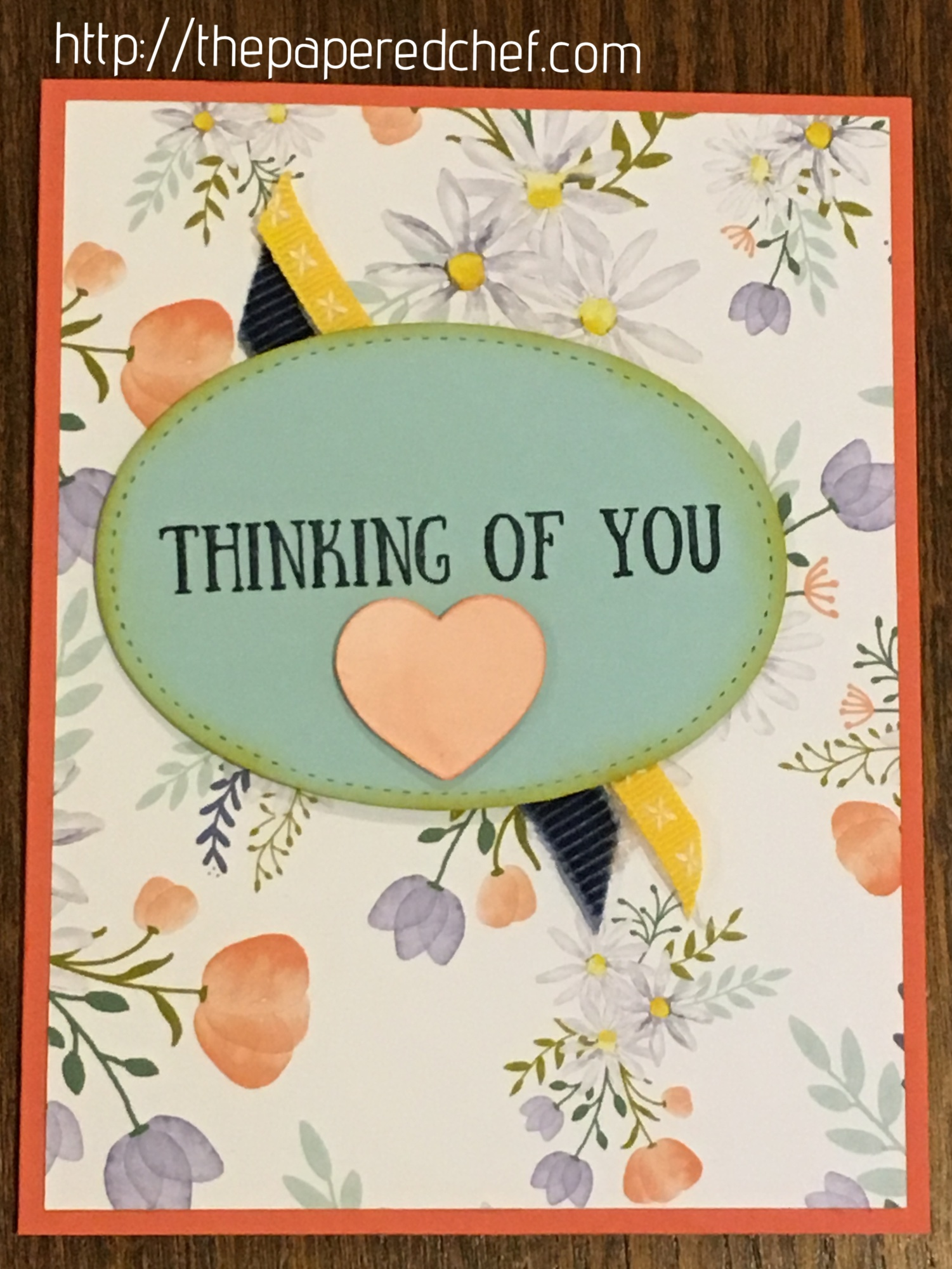 Delightful Daisy - Thinking of You Card