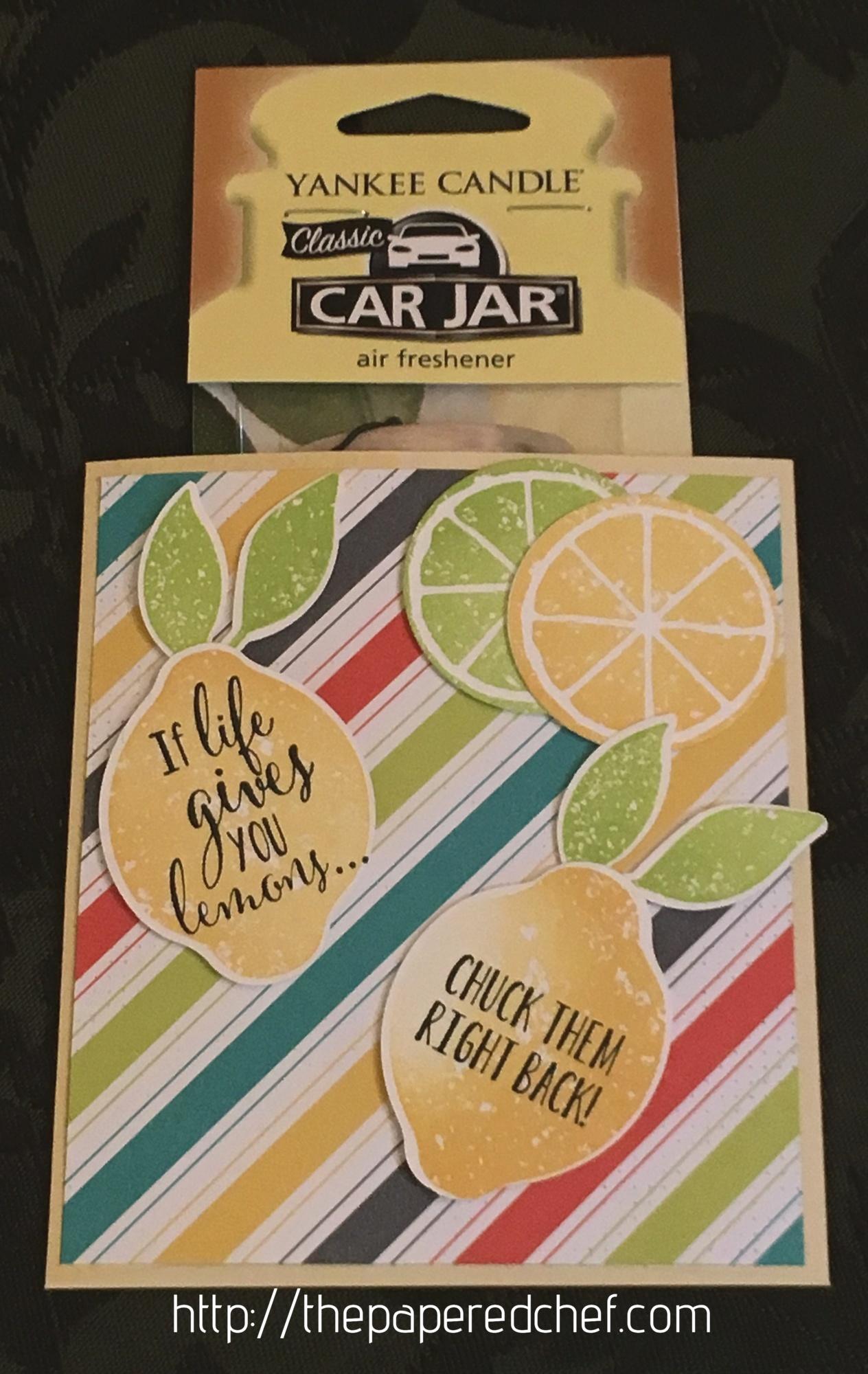 Lemon Zest Yankee Candle Air Freshener Holder
