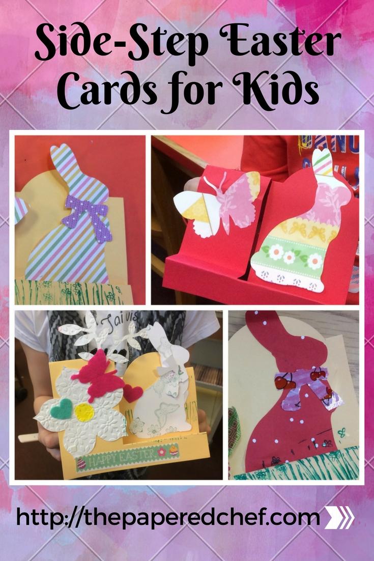 Side Step Easter Cards for Kids