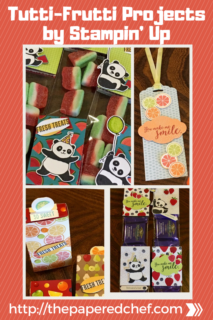Tutti-Frutti Projects by Stampin' Up