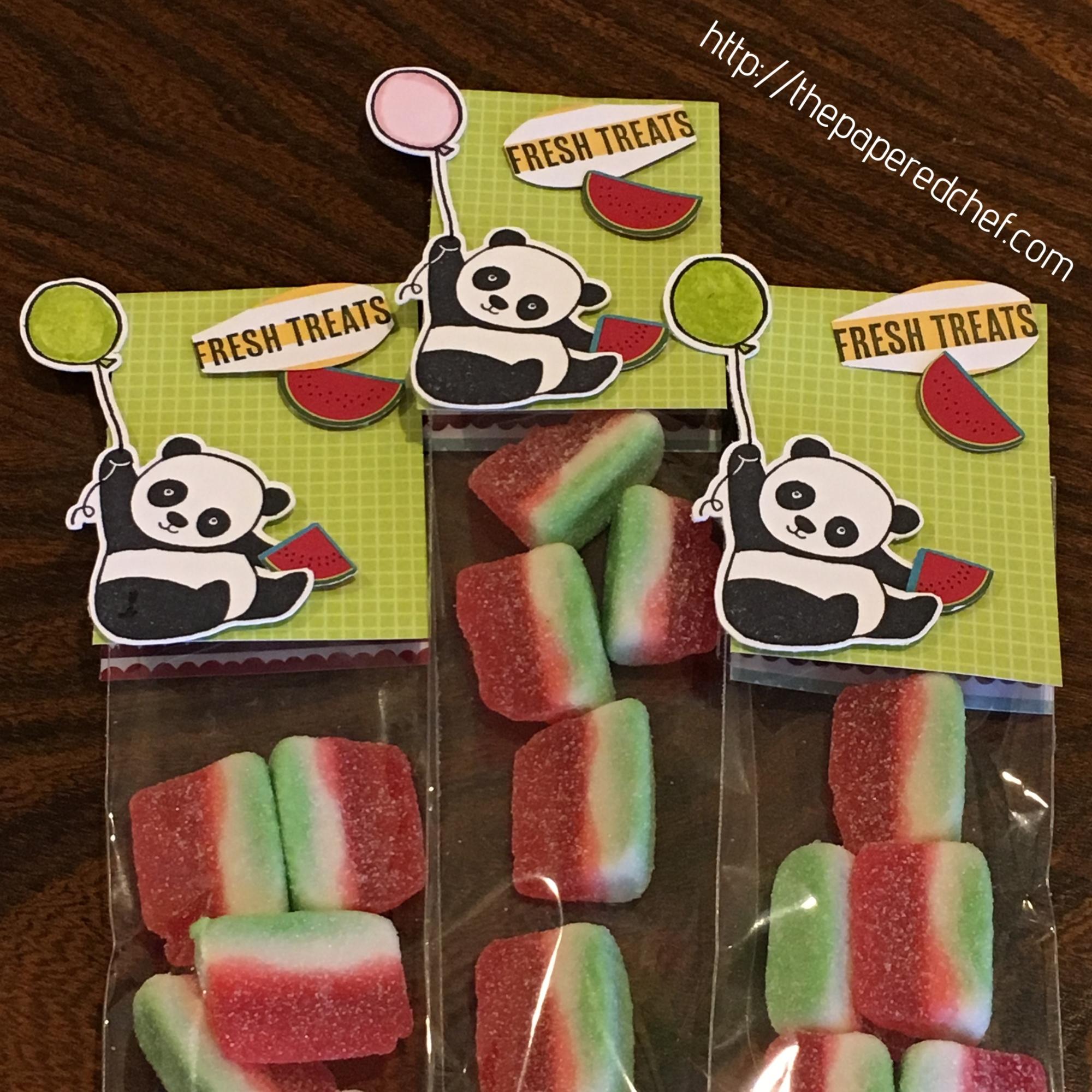 Party Pandas Watermelon Treats - Tutti-Frutti dsp