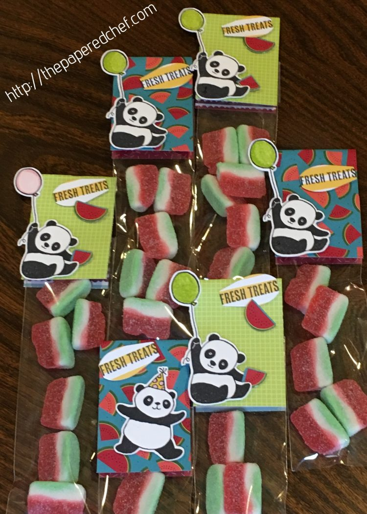 Party Pandas Watermelon Treats - Tutti-Frutti dsp