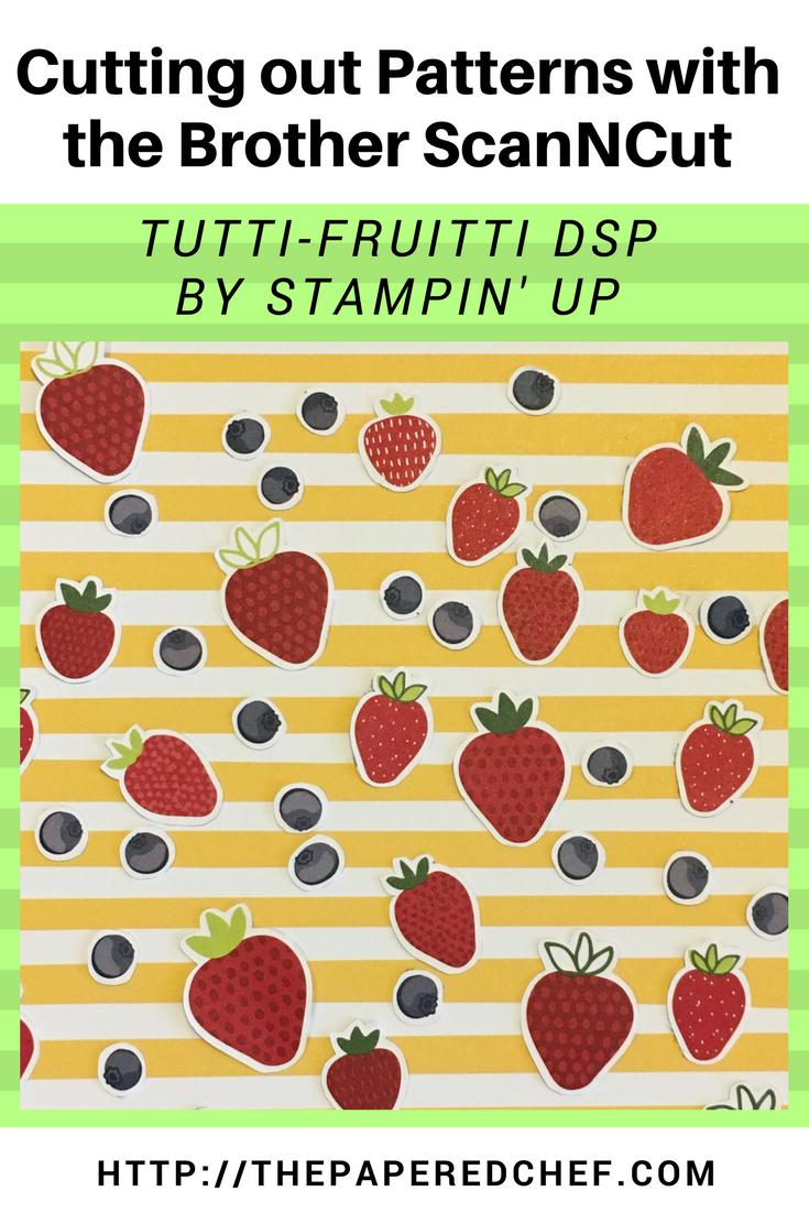 Brother ScanNCut - Tutti-Fruitti dsp