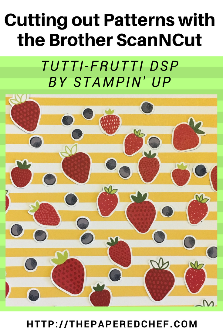 Brother ScanNCut Tutti Frutti dsp