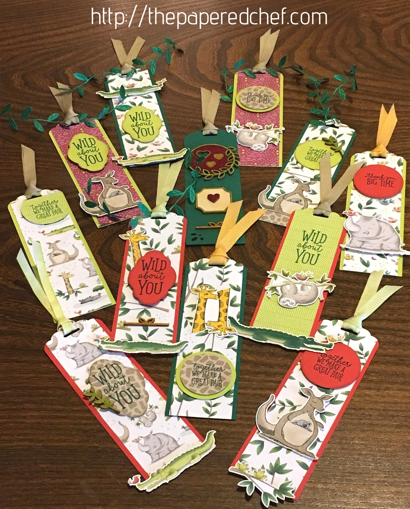 Animal Expedition Bookmarks - Animal Outing by Stampin' Up