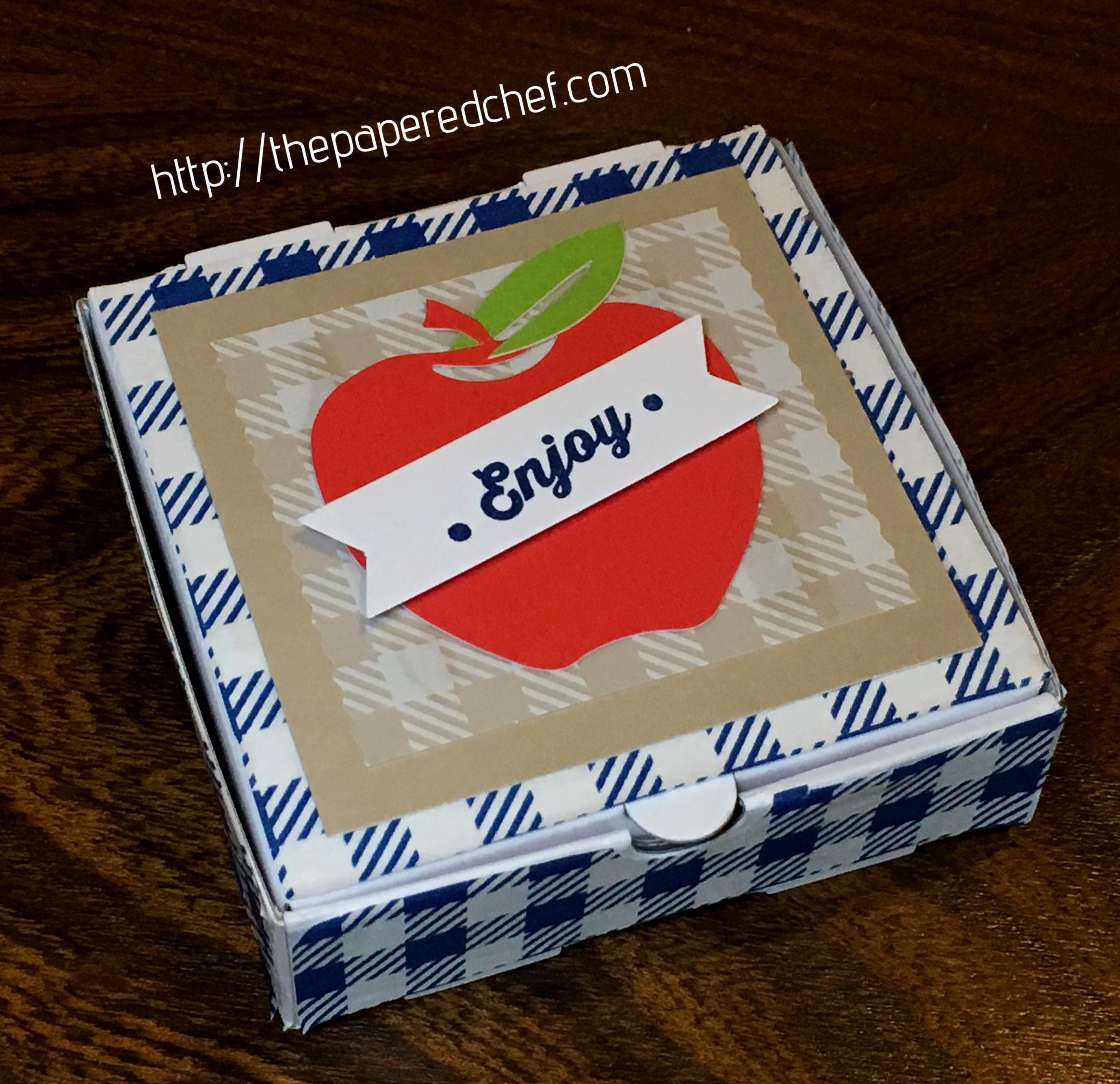 Picnic Paradise Mini Pizza Box