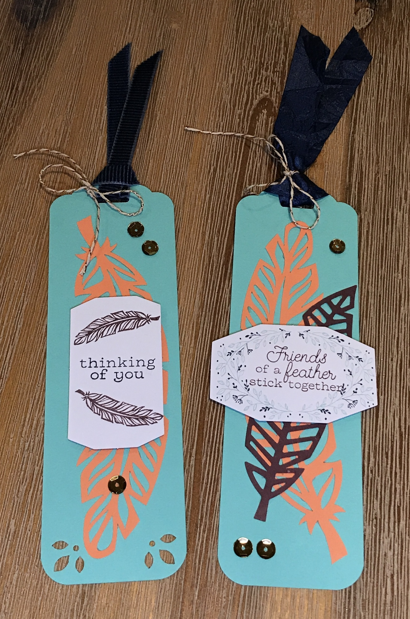 Friends of a Feather Bookmarks - Paper Pumpkin